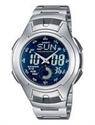 Picture of Casio Analog Digital Classic Illuminator AQ-160WD-1BVDF AQ-160WD-1BV Men's Watch
