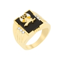 Picture of 3-Stone Shriners Men's Ring