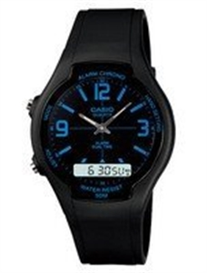 Picture of Casio Analog Digital Dual Time AW-90H-2BVDF AW-90H-2BV Men's Watch
