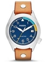 Picture of Fossil Aeroflite 100M Three-Hand Date Tan Leather AM4554 Men's Watch