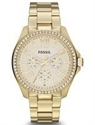 Picture of Fossil Cecile Crystals Multifunction Gold-Tone AM4482 Women's Watch