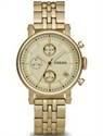 Picture of Fossil Boyfriend Chronograph Champagne Dial ES2197 Women's Watch